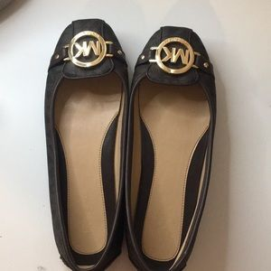Michael kors flats- lightly worn